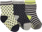 Robeez Geo Sock 3 Pack (9 Pairs) (Infant/Toddler Boys')