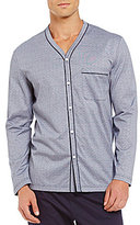 Hart Schaffner Marx Liquid Cotton Button-Front Pajama Top