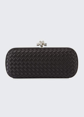 Bottega Veneta Stretch Intrecciato Knot Clutch