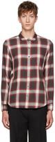 Attachment Brown Plaid Shirt