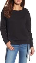 Women's Caslon Side Tie Sweatshirt