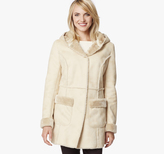 Johnston & Murphy Faux-Shearling Hooded Coat