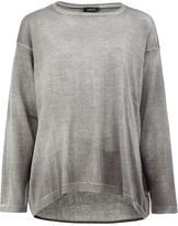 Avant Toi round neck jumper - women - Linen/Flax - XS