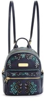 Juicy Couture Solstice Embroidery Leather Mini Backpack