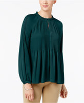 Charter Club Pleated Top, Created for Macy's