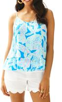 Lilly Pulitzer Coral Tank Top
