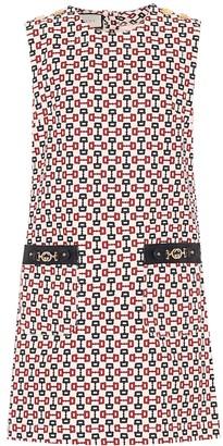 Gucci Printed cotton minidress