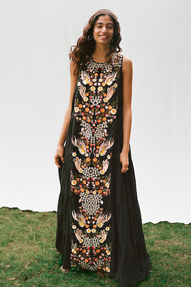 Jacaranda Tiered Maxi Dress By Samant Chauhan in Black Size 0