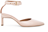 Rosetta Getty Leather Pointed Mid Heels