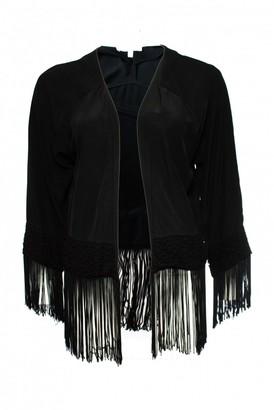 Les Petites Black Silk Jackets