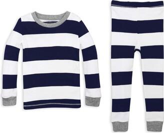 Burt's Bees Baby Unisex Little Kid Pajamas Tee and Pant 2-Piece PJ Set 100% Organic Cotton (12 Mo - 7 Yrs)
