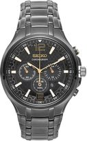 Seiko Men's Recraft Stainless Steel Solar Chronograph Watch