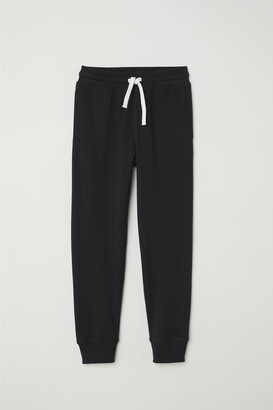 H&M Cotton Jersey Joggers