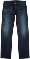 Citizens Of Humanity Sid Dark Blue Straight-leg Jeans