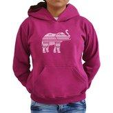 Eddany Aztec Elephant Women Hoodie