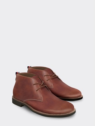Tommy Hilfiger Leather Desert Boot
