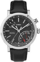 Timex Metropolitan Black Dial Leather Strap Mens Watch TW2P81700ZA