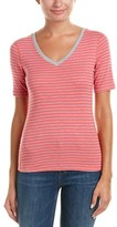 Three Dots Stripe T-shirt.
