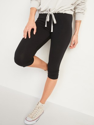 Old Navy High-Waisted Jersey Capri Leggings for Women