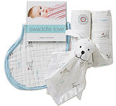 Aden Anais Aden + Anais Baby Boys Liam the Brave 6-Piece Gift Set