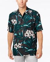 Tommy Bahama Men's Lily Soleil Floral-Print Silk Short-Sleeve Shirt