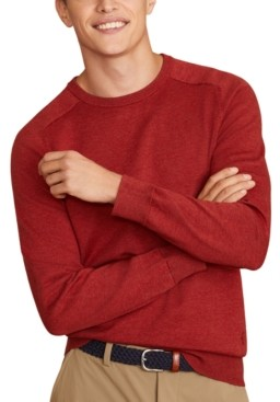 Brooks Brothers Men's Red Fleece Sweater