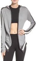 Blanc Noir Women's Hooded Cardigan