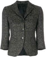Tagliatore textured fitted blazer