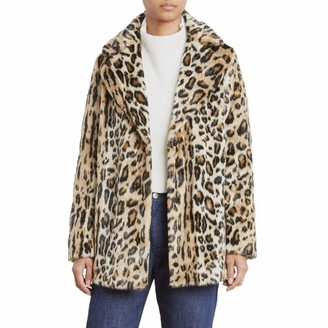 Kenneth Cole New York Kenneth Cole Women's Animal Faux Fur Coat