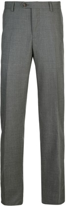 Brunello Cucinelli Straight Leg Suit Trousers