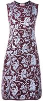 Lanvin baroque detail dress - women - Polyamide/Polyester/Acetate/Viscose - S