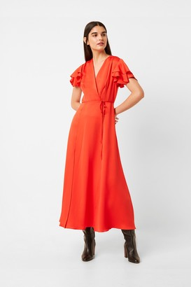 French Connection Maudie Cari Midi Tea Dress