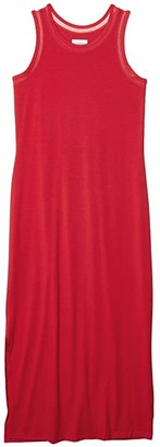 Columbia Slack Water Knit Maxi Dress (Red Lily) Women's Dress