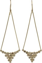 Todd Reed Brown Diamond Drop Earrings