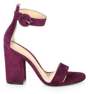 Heel Portofino Portofino Heel Sandals Suede Block Portofino Suede Sandals Block DWEHY2I9