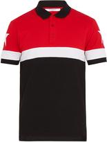 Givenchy Cuban-fit tri-colour cotton polo shirt