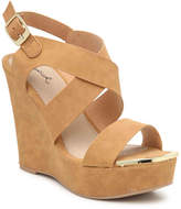 Qupid Women's Kelsey-63AX Wedge Sandal