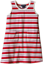 Toobydoo Tank Dress Multi Pink Stripe (Infant/Toddler)