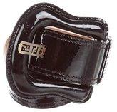 Fendi Patent Leather Waist Belt
