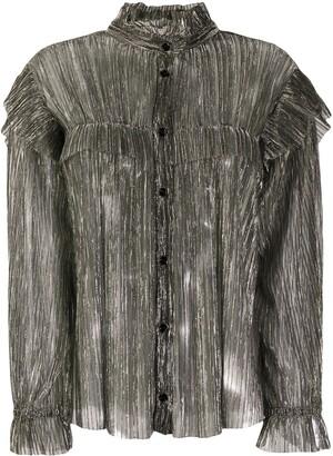 Etoile Isabel Marant Sheer Metallic Blouse