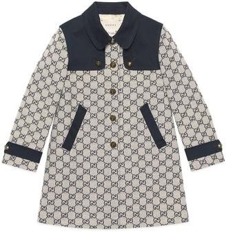 Gucci Children's GG canvas coat