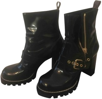 Louis Vuitton Star Trail Black Patent leather Ankle boots