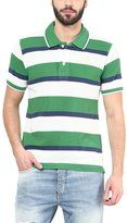 American Crew Men's Polo Collar Stripes T-Shirt -XL (AC69A-XL)