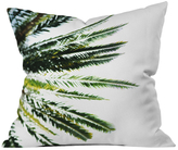 DENY Designs Beverly Hills Palm Tree Outdoor Throw Pillow
