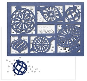 MASTERPIECE Laser Cut Holiday Cards Set of 12