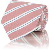 Isaia Men's Diagonal-Stripe Silk Necktie