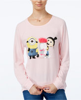 Hybrid Juniors' Despicable Me Fluffy Unicorn Graphic Sweatshirt