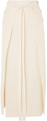 Sonia Rykiel Layered Stretch-knit Maxi Skirt