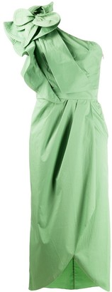 Johanna Ortiz Persian Opulence one-shoulder dress
