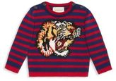 Gucci Baby's Tiger-Intarsia Wool Sweater
